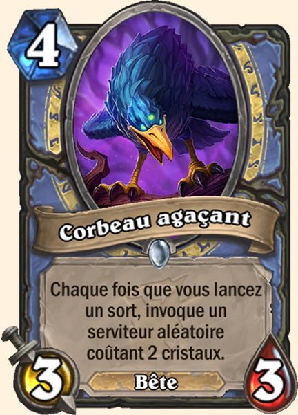 Corbeau agaçant carte Hearthstone