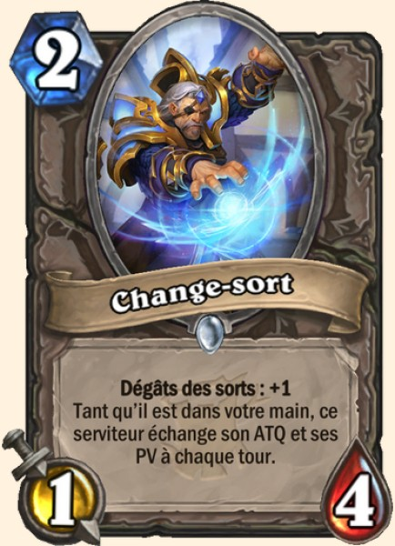 Change-sort carte Hearthstone