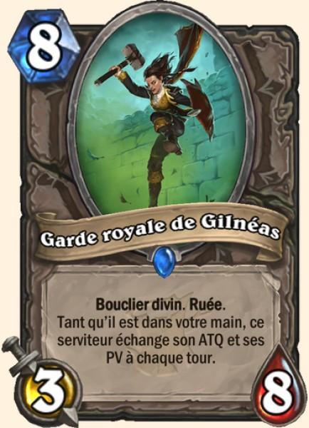 Garde royale de Gilnéas carte Hearthstone