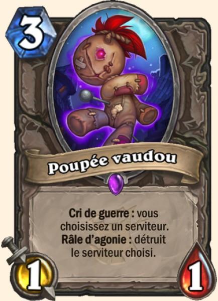 Poupée vaudou carte Hearthstone