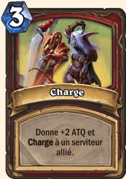 Charge carte Hearthstone