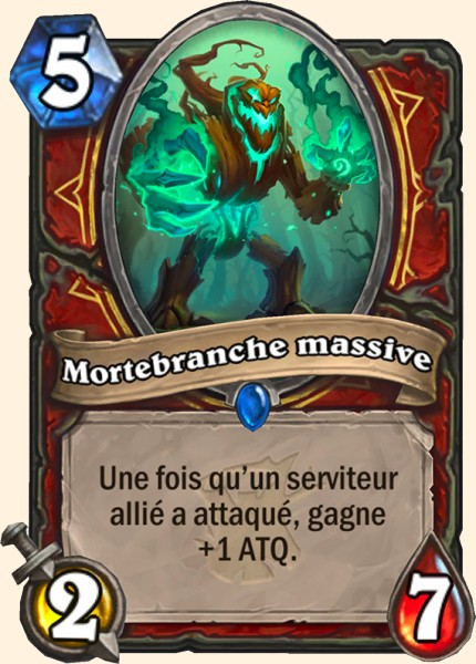Mortebranche massive carte Hearthstone