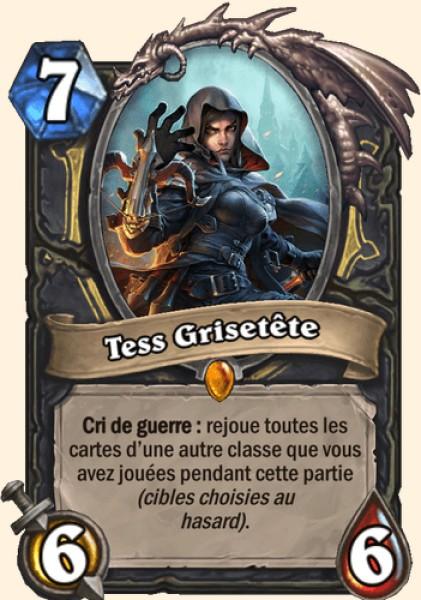 Tess Grisetête carte Hearthstone