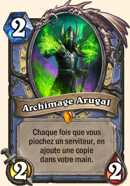 Archimage Arugal carte Hearthstone