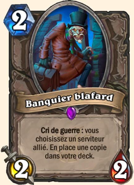Banquier blafard carte Hearthstone
