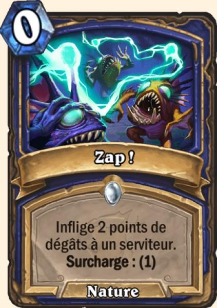 Zap ! carte Hearthstone
