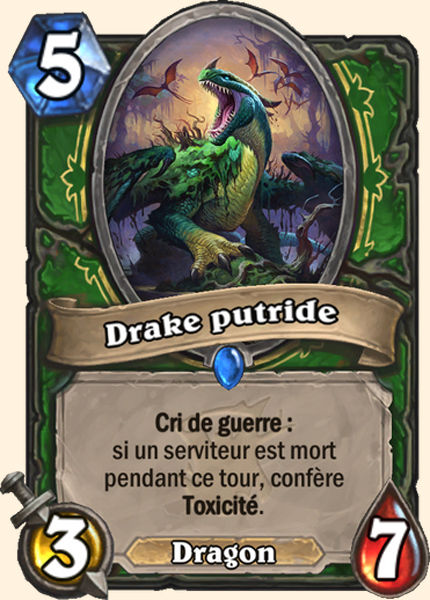 Drake putride carte Hearthstone