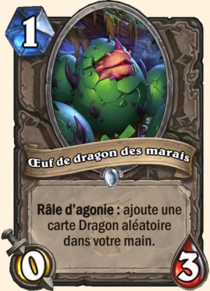 Oeuf de dragon des marais carte Hearthstone