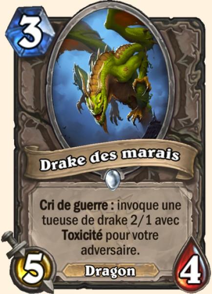 Drake des marais carte Hearthstone