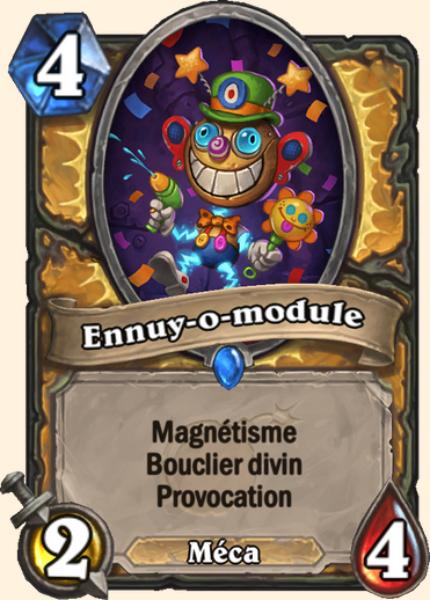 Ennuy-o-module carte Hearthstone