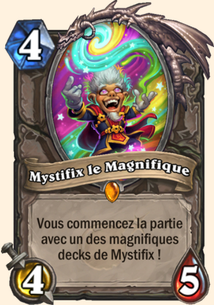 Mystifix le Magnifique carte Hearthstone