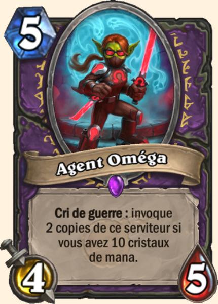 Agent Oméga carte Hearthstone