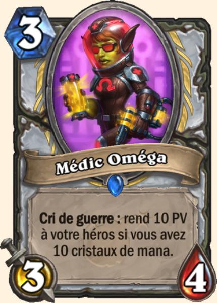 Médic Oméga carte Hearthstone