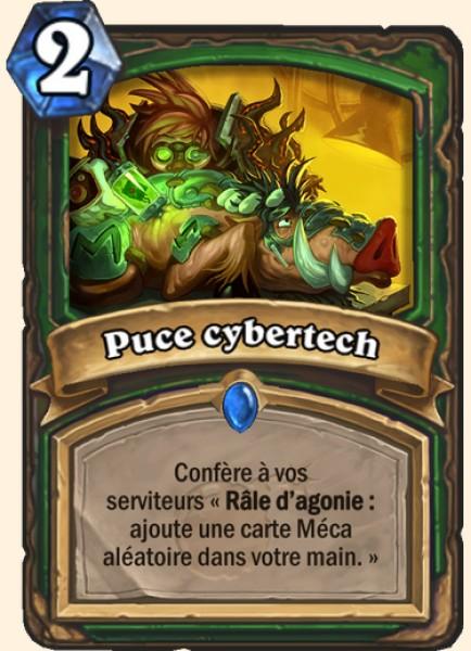 Puce Cybertech carte Hearthstone