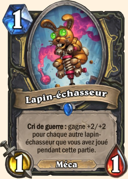 Lapin-échasseur carte Hearthstone