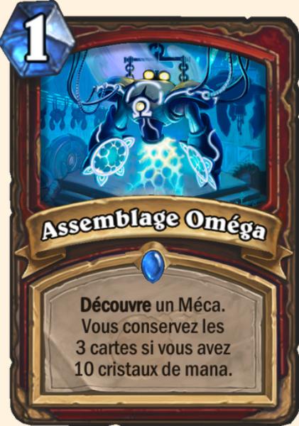 Assemblage Oméga carte Hearthstone
