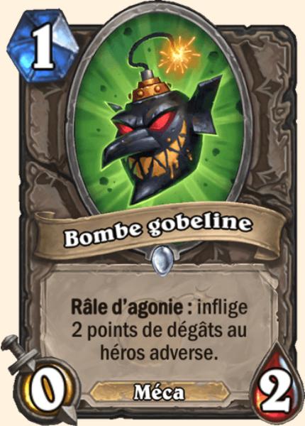 Carte Hearthstone Bombe gobeline (Armageboum)