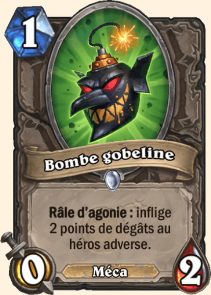 Bombe gobeline carte Hearthstone