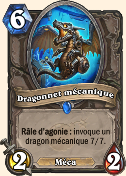Dragonnet mécanique carte Hearthstone