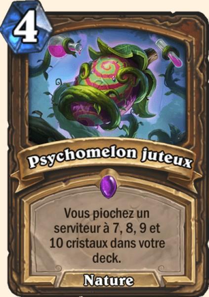 Psychomelon juteux carte Hearthstone