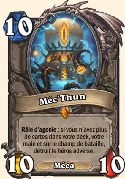 Méc'Thun carte Hearthstone
