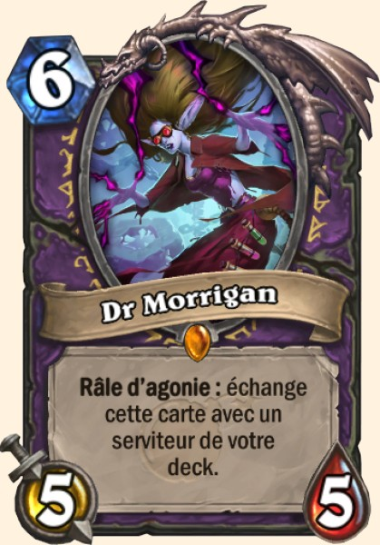 Dr Morrigan carte Hearthstone