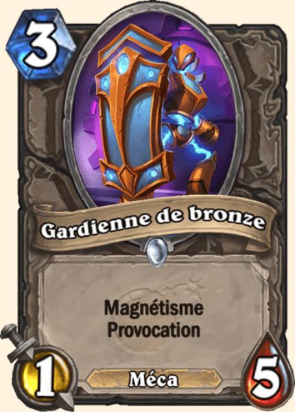 Gardienne de bronze carte Hearthstone