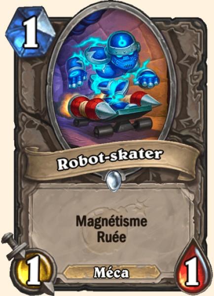 Robot-skater carte Hearthstone