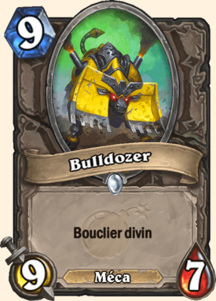 Bulldozer carte Hearthstone