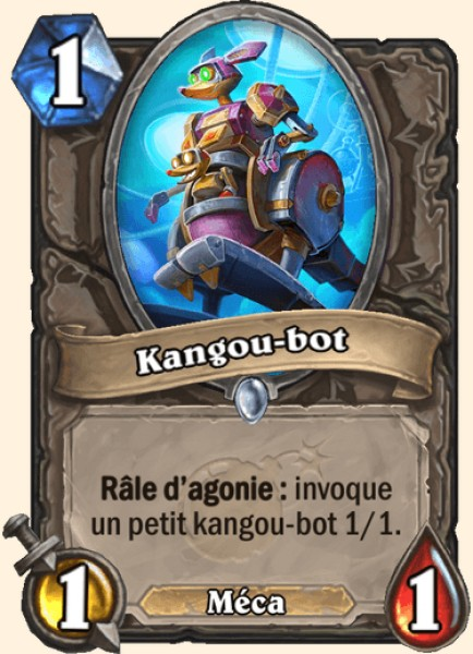 Kangou-bot carte Hearthstone