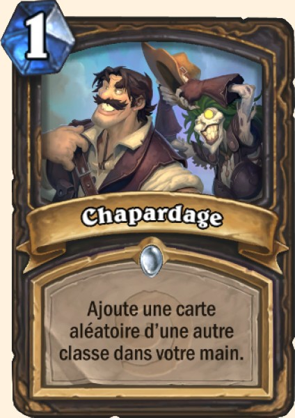 Chapardage carte Hearthstone