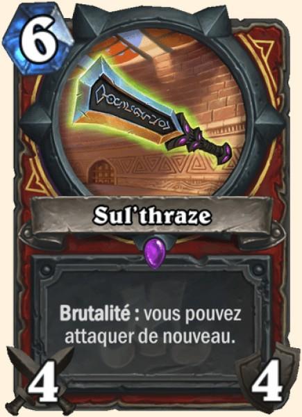 Sul'thraze carte Hearthstone