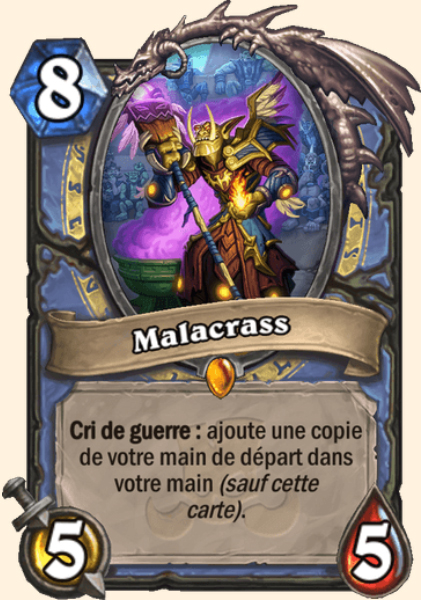 Malacrass carte Hearthstone