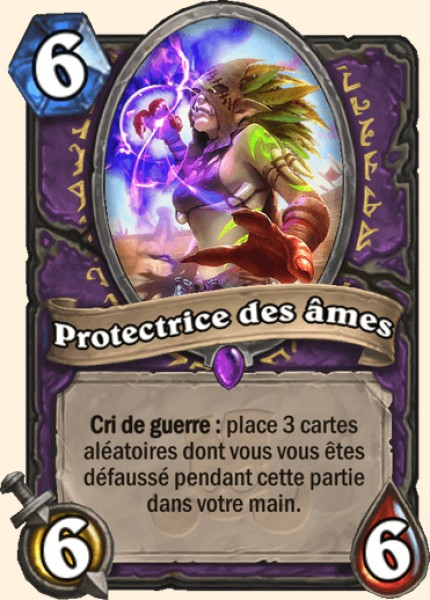 Protectrice des âmes carte Hearthstone