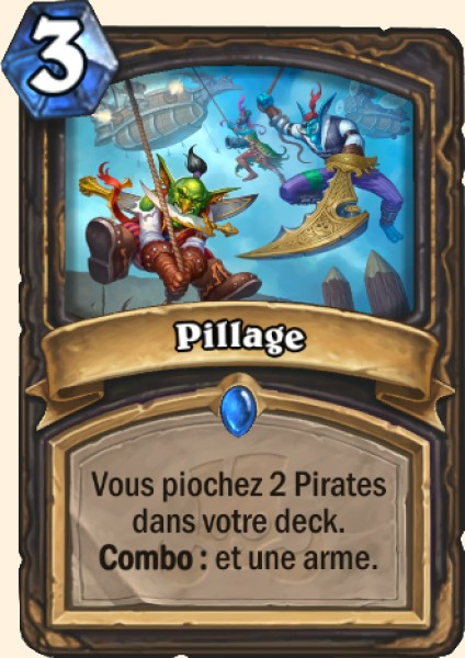 Pillage carte Hearthstone