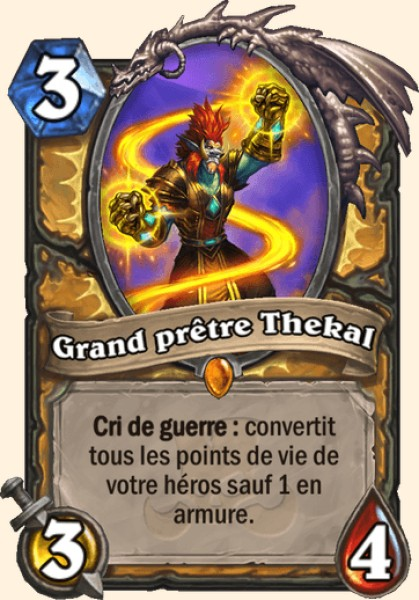 Grand prêtre Thekal carte Hearthstone