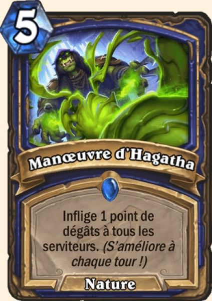 Manoeuvre d'Hagatha carte Hearthstone