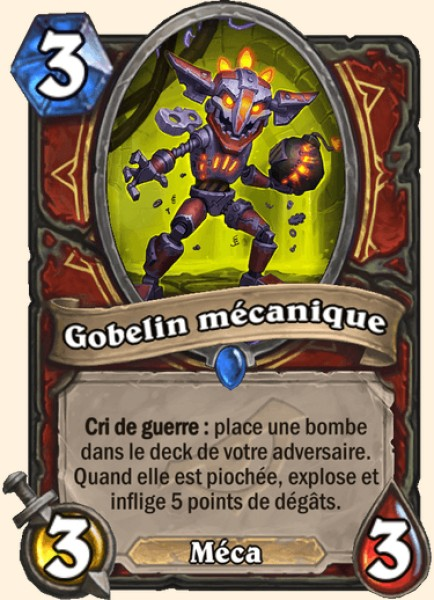 Gobelin mécanique carte Hearthstone