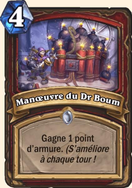 Manoeuvre du Dr Boum carte Hearthstone