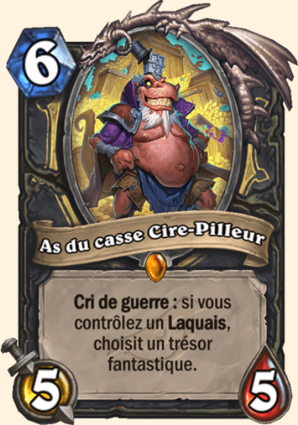 As du casse Cire-Pilleur carte Hearthstone