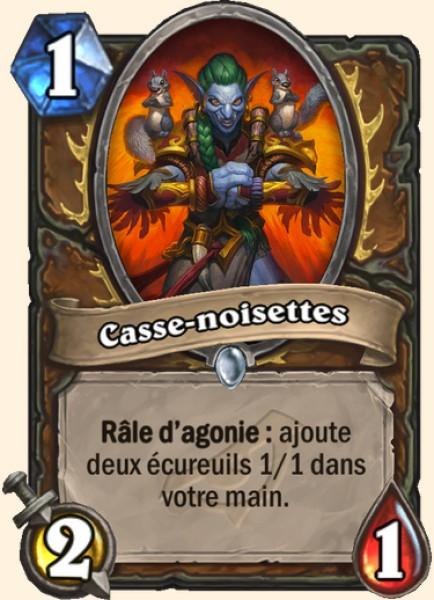 Casse-noisettes carte Hearthstone