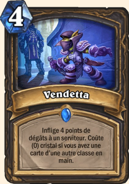 Vendetta carte Hearthstone
