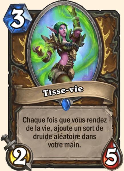 Tisse-vie carte Hearthstone