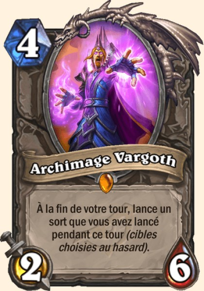 Archimage Vargoth carte Hearthstone
