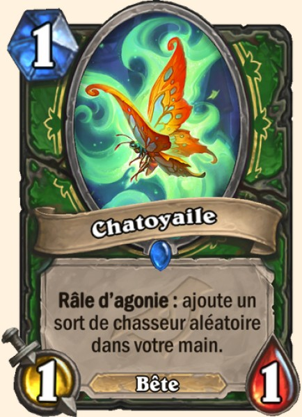 Chatoyaile carte Hearthstone
