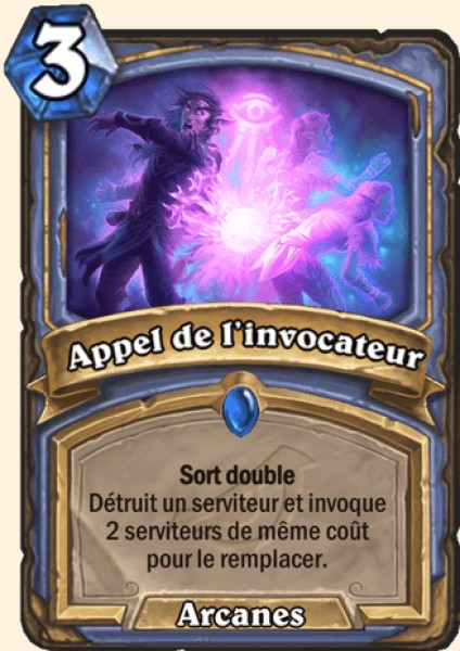 Appel de l'invocateur carte Hearthstone