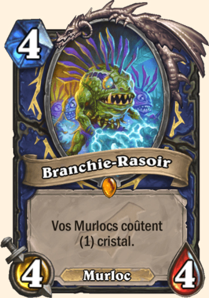 Branchie-Rasoir carte Hearthstone