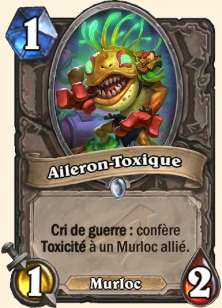 Aileron-Toxique carte Hearthstone