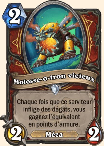 Molosse-o-tron vicieux carte Hearthstone