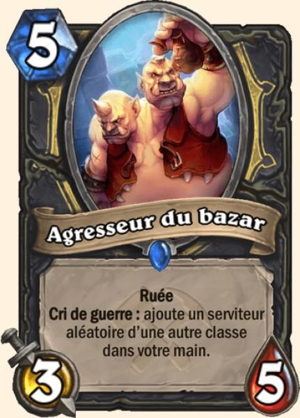 Agresseur du bazar carte Hearthstone